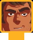 Character selection cursor
