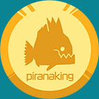 Logo piranaking